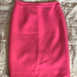 Pink No. 2 Pencil Skirt